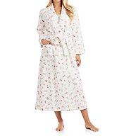 Carole Hochman Holiday Bouquet Long Robe 1851261